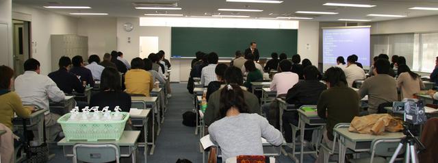 「李世珍の針」講習会 in 大阪_入門講座の講義風景